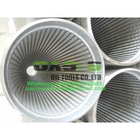 China Drilling well, water and irrigation stainless steel Johnson water filter screen on sale