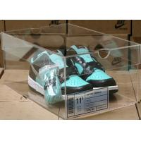Quality Non - toxicity Acrylic Storage Boxes , clear shoe boxes with lid for display for sale