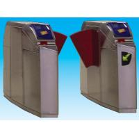 Quality Flap barrier security gate barrier with intelligent management for pedestrian for sale