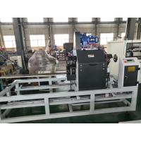 Buy cheap 20mm~125mm Plastic PE MPP PERT pipe cutting machine with SIEMENS PLC system from wholesalers