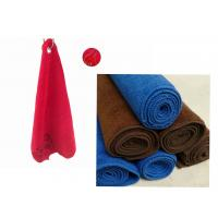 China Terry Velour Golf Towel wholesale