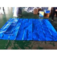 China 10*10ft / blue color / 160gsm PE TARPAULIN for waterproof cover wholesale