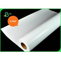 China 200g 260g RC Waterproof Luster / Satin Photo Paper For EPSON 24'' 36'' x 30M on sale