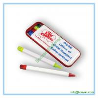 plastic combo pen set, ball pen, highlighter ,mechanical pencil, pen box set for sale