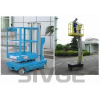 China Self Driven Hydraulic Lift Ladder 5m Working Height Dual Mast For Auto Stations wholesale