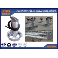 China Stainless Steel Submersible Mixer QJB4.0/6-400/3-980S , 4KW for aeration tank wholesale