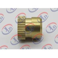 Buy cheap Custom Small Brass Knurled Nuts 12mm X 12Mm Size Heat Treatment Surface from wholesalers