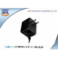 Quality Universal 12v Wall Mount Power Adapter Ac 100-240v To 50-60hz Dc 0.2a 0.8a 2 Pin Plug for sale