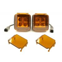 Quality 3 Inch LED Car Lighting Accessories Amber Cube Pods Cover Offroad Truck Cover for sale