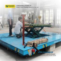 China Customized Warehouse Carts Material Handling Equipment With Scissor Lifting Table wholesale