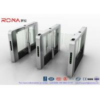 China DC Servo Motor Speed Gate Turnstile Pedestrian Barrier 600mm-1200mm Passage Width wholesale