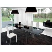 China Home Featuring Modernity tempered glass topped dining tables wholesale