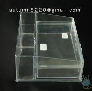 China BO (60) acrylic portable jewelry display cases wholesale