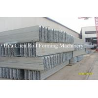 China Hydraulic Automatic Highway Guardrail Roll Forming Machinery with CE Certificate wholesale