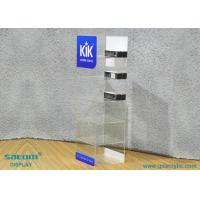 China Acrylic E-liquid Display Stand For Storage / Display , Free Logo Design wholesale
