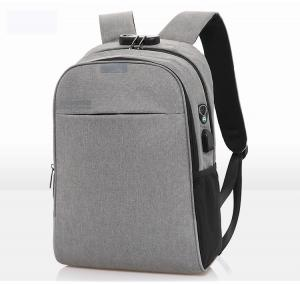 China Smart Anti Theft Canvas 45cm Work Laptop Backpacks wholesale