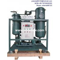 China Emulsified Turbine Oil Filtration System | SteamTurbine Oil Treatment Plant | Turbine Oil Purification on sale