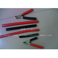 China Red / Black Plastic Flexible Hose For Alligator Clip , Wire Harnesses , Transformers wholesale