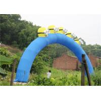 China Large Minion Inflatable Arch Event Promotional Inflatable Cartoon Arch wholesale