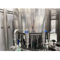 China 3000BPH Purified Drinking SS304 Automatic Water Bottle Filling System on sale
