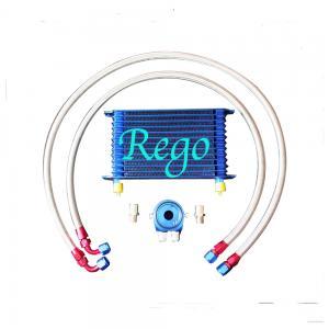 China Aluminium Radiator Transmission Oil Cooler Kit , 13 Rows External Transmission Oil Cooler wholesale
