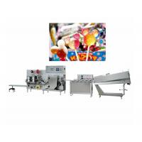 China Flat Lollipop Molding Candy Packaging Machine Capacity 200-600pcs / Min wholesale