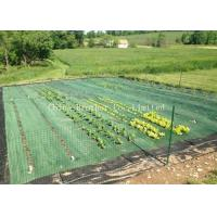 China Black Air Permearble PP Woven Fabric Agriculture Cover / Ground Protection Mat wholesale