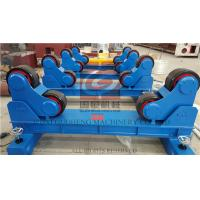 20T Pipe Welding Rotator with Manual Travel Bogie , One Motorized unit and Three Idle Units