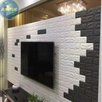 China Paintable hotel indoor decoration fashion bathroom waterproof 3d wall paper wholesale