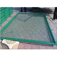 Buy cheap Power Coated / PVC Coated Wire Fencing Diamond Mesh 1.2M * 50M Widely Used from wholesalers
