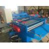 China Semi Automatic Plate Straightening Machine , Blue Sheet Metal Flattening Machine wholesale