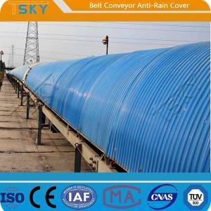 China Anti Rain Belt Conveyor Cover SGS Batching Plant Spare Parts wholesale