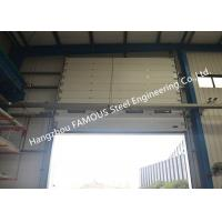 China Overhead Sectional Steel Industrial Garage Doors Factory Up Ward Fast Lifting Gate wholesale