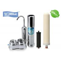 China Benchtop Ceramic Drinking Water Filter For Pre Filtration Home Use Light Weight on sale