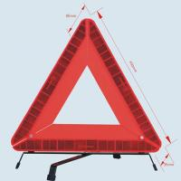 Quality Collapsible LED Car Emergency Warning Triangle With High Quality for sale