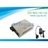 China Optical Media Converter 1310 / 1550 Nm Single Fiber SM SC 120KM wholesale