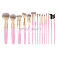 China 15 Piece Synthetic Makeup Brushes Set Luxury Exclusive Makeup Brush Holder wholesale