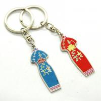 China Metal Custom Shaped Keychains Solid Material Any Size Die Casting Process wholesale