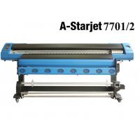 Buy cheap A-starjet 7702 1.8m eco solvent printer with 2 pcs DX7 heads from wholesalers