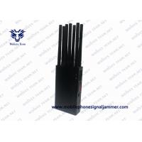 Buy cheap Wireless Handheld Signal Jammer WiFi GPS 3G 4GLTE 4G Wimax AC Adapter Power from wholesalers