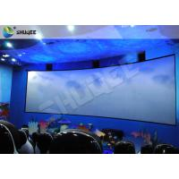 Quality Specific Design 5D Cinema System With Red Black Motion Chairs In High Synchronized Performance for sale
