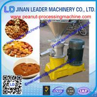 China According to the request high quality stainless steel peanut butter maker machine wholesale