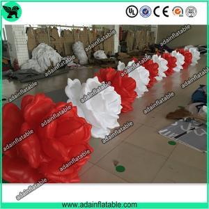 China Wedding Inflatable Decoration,Decoration Inflatable Flower,Inflatable Flower Chain 10m wholesale