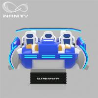 Buy cheap Multi - Player 9D Virtual Reality Cinema Motion Simulator Logo Customization from wholesalers