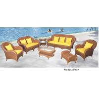 China 6 piece -Tradition Chinese Style garden patio sofa set 7 pieces rattan wicker material -9013 wholesale