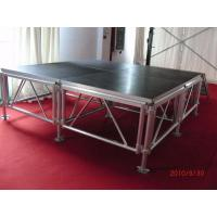 Customized Aluminum Mobile Stage Platform Adjustable Height Non - Rust