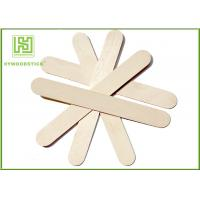 China Ice Wooden Sticks Lolly Pop Sticks 114mm Natural Wooden Sticks wholesale