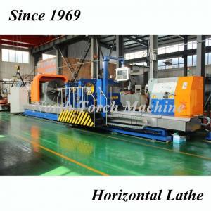 China High Speed Heavy Duty Lathe Machine , Horizontal Lathe Machine Strong Rigidity on sale