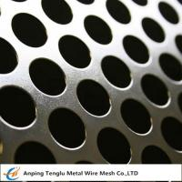 China Round Hole Patten Perforated Sheet|Stainless Steel Perforated Plate R4 T6 on sale