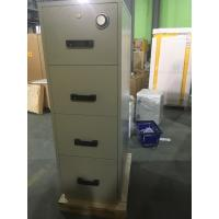 Quality Antimagnetic Fireproof Storage Cabinets 4 Drawer For CD / Documents for sale